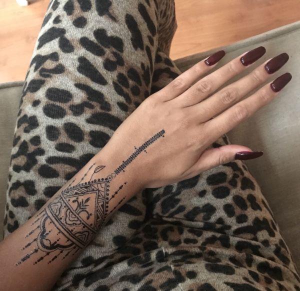 Tattoo Black Love Pyramids