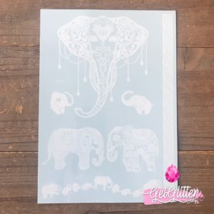 Tattoo White - White Elephant