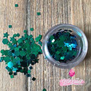Festival Glitters Groen