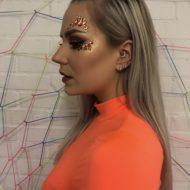 Oranje Face Jewel