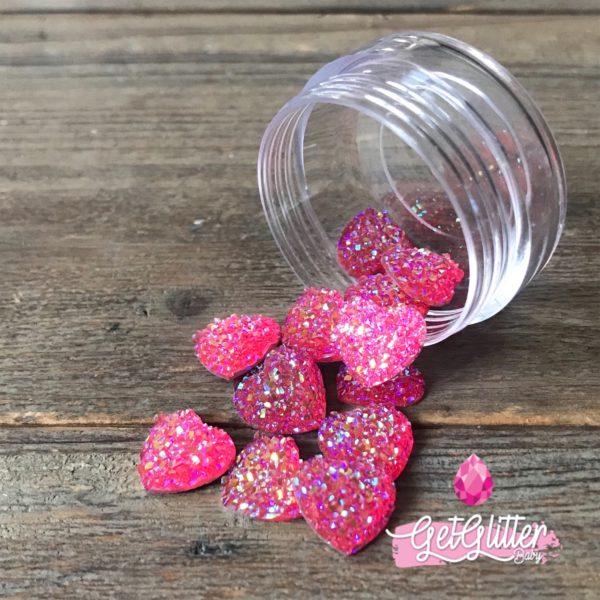 Gezichts Glitters Roze