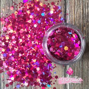 Roze Glitters
