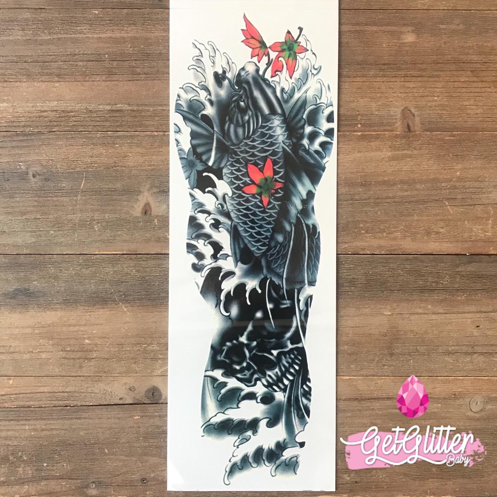 Waar Henna Tattoo Kopen: Plak Tattoo Sleeve Kopen