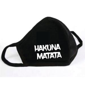 Mondkapje Hakuna Matata Vierkant
