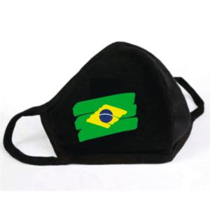 Mondkapje Braziliaanse Vlag