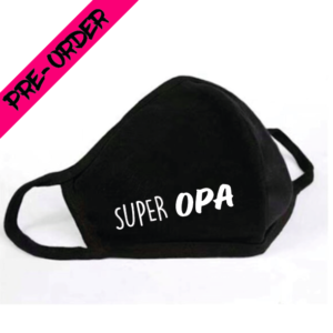 Mondkapje Super Opa