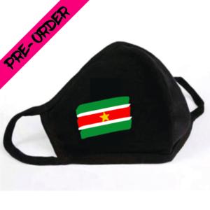 Mondkapje Surinaamse Vlag