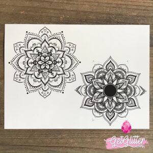 Plak Tattoo Mandala