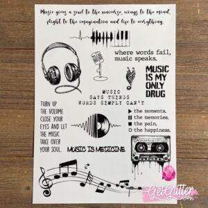 Tijdelijke Tattoo Muziek