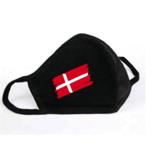 Mondkapje Deense Vlag