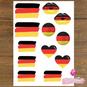 Duitse Vlag Tattoos