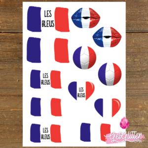 Franse Vlag Tattoos