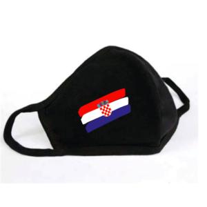 Mondkapje Kroatische Vlag