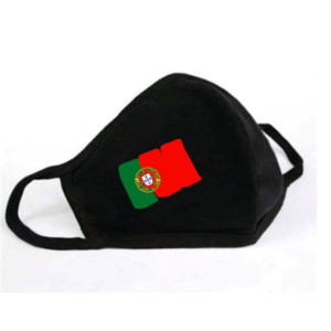 Mondkapje Portugese Vlag