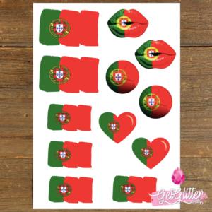 Portugese Vlag Tattoos