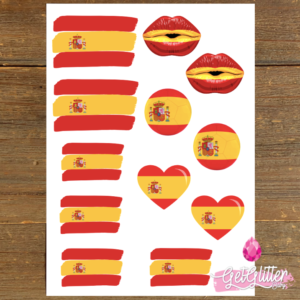 Spaanse Vlag Tattoos