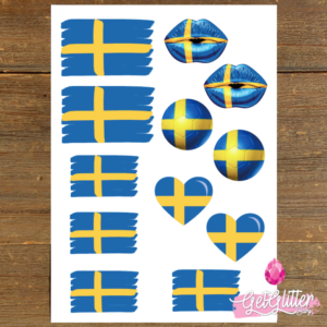 Zweedse Vlag Tattoos