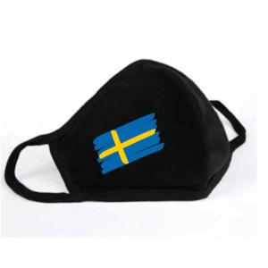 Mondkapje Zweedse Vlag