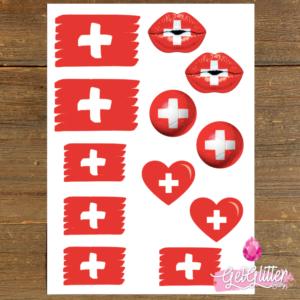 Zwitserse Vlag Tattoos