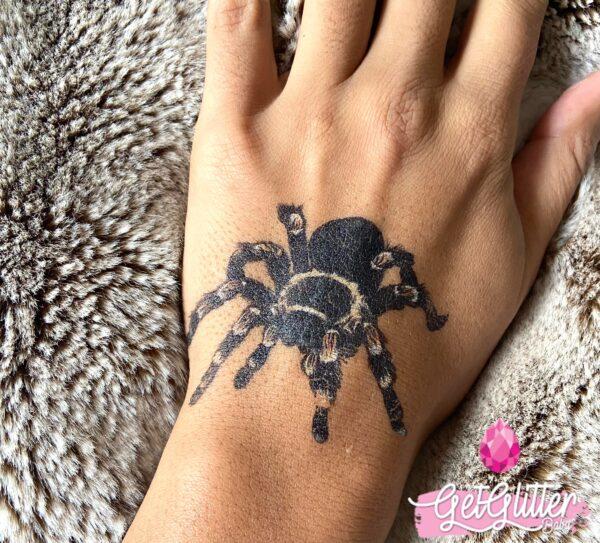 Plak Tattoo Spinnen