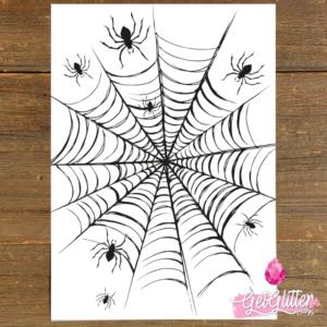 Spinnenweb Tattoo